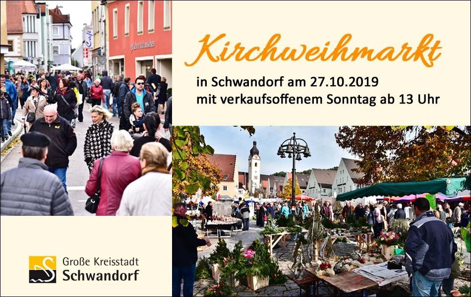 Kirchweihmarkt in Schwandorf