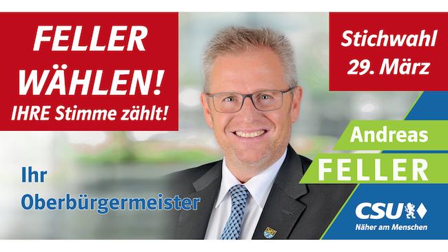 WAHLWERBUNG Andreas Feller