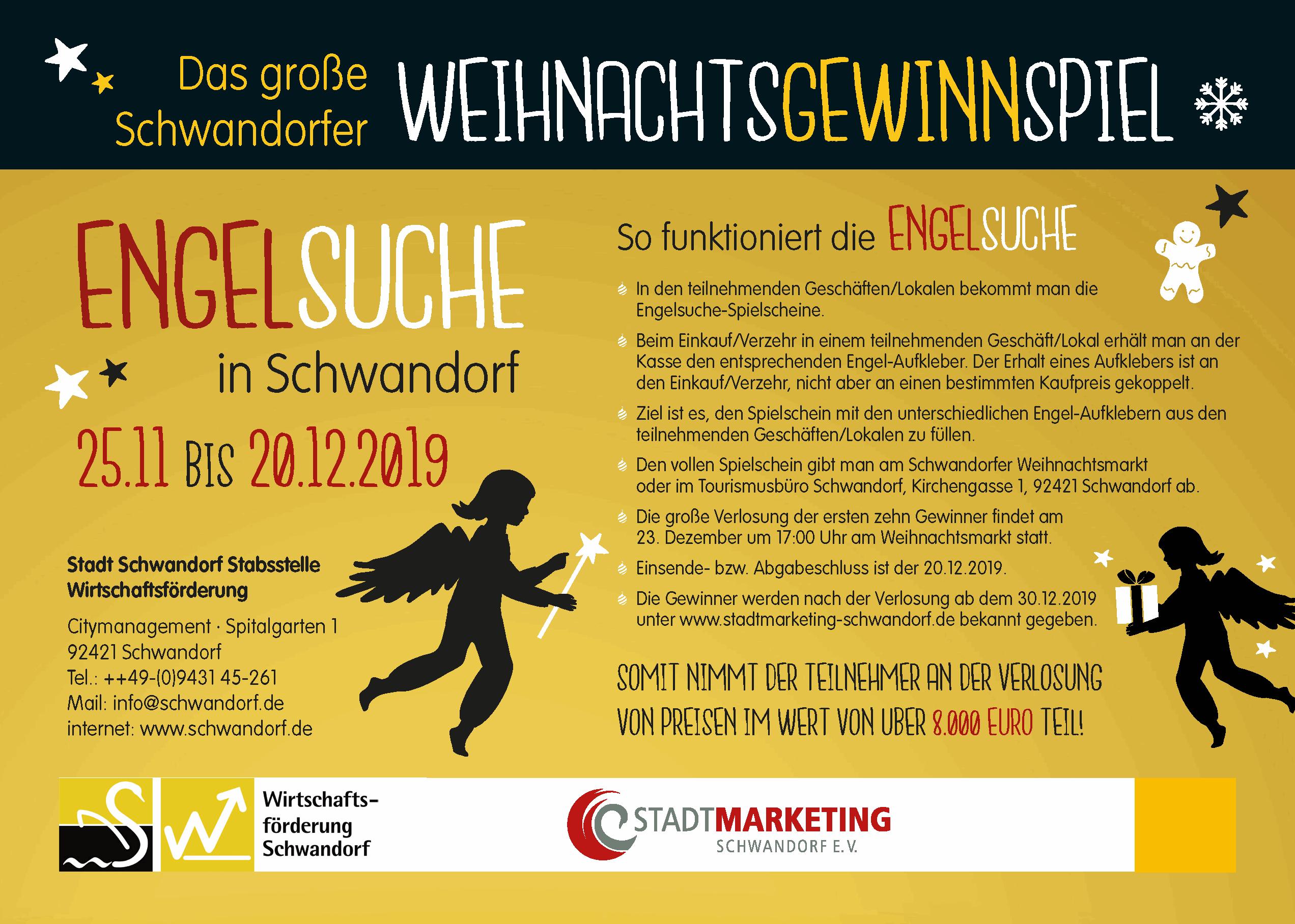 Engelsuche in Schwandorf