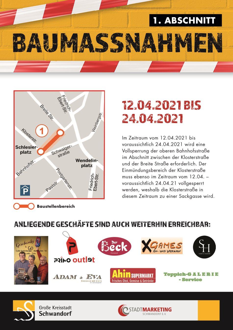 Stadt Schwandorf: Baumaßnahmen